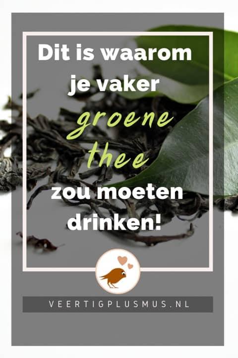 Dit is waarom groene thee zo gezond voor je is