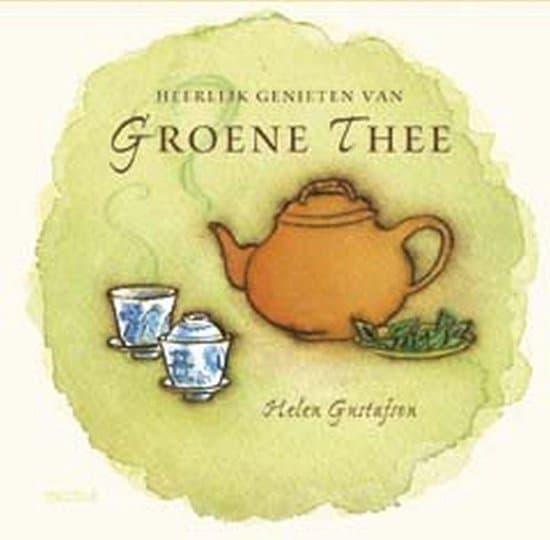 boek heerlijk genieten van groene thee