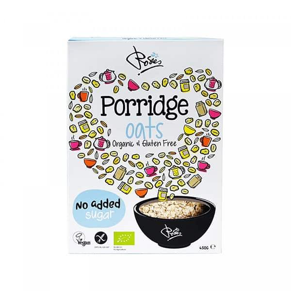 rosies porridgeoats biologische en glutenvrije havermout