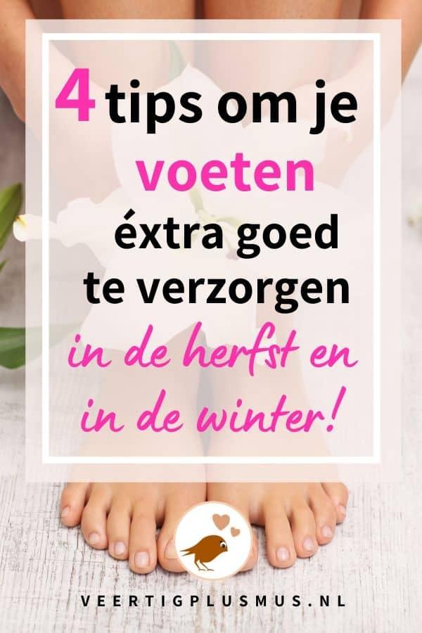 4 tips om je voeten extra goed te verzorgen in de herfst en winter