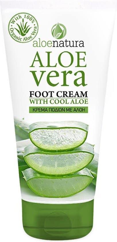 aloenatura voet creme aloe vera 150 ml
