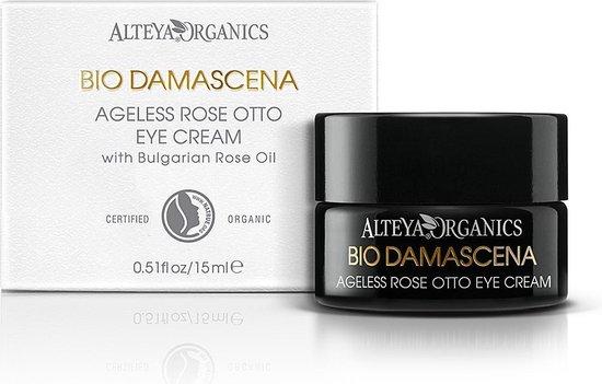 alteya organics bio damascena rose otto ageless oogcreme