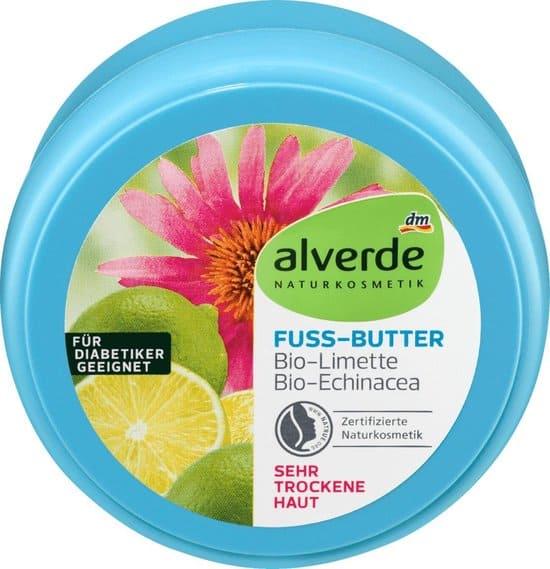 alverde voeten boter limoen echinacea