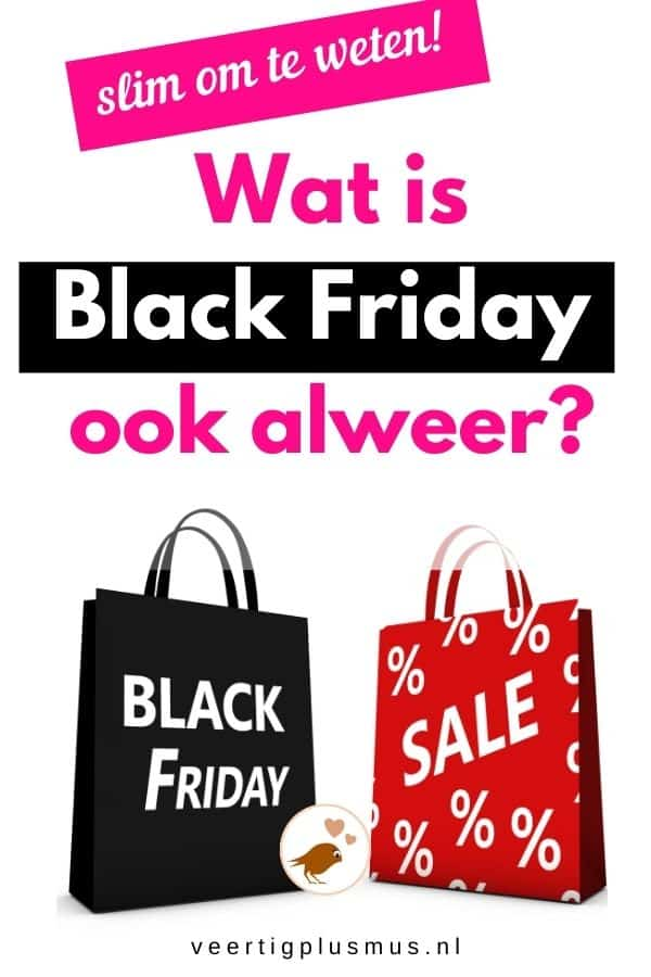 wat is black friday ook alweer