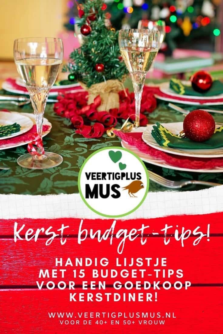 Handig lijstje met 15 budget tips voor een goedkoop kerstdiner