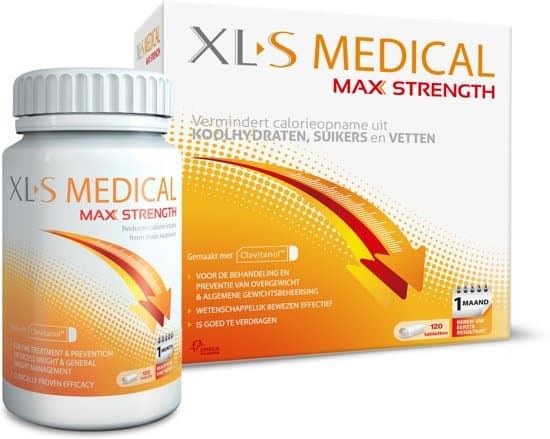 xl-s medical max strength afslanksupplement