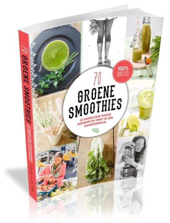 70 groene smoothies van marjolijn van der velde