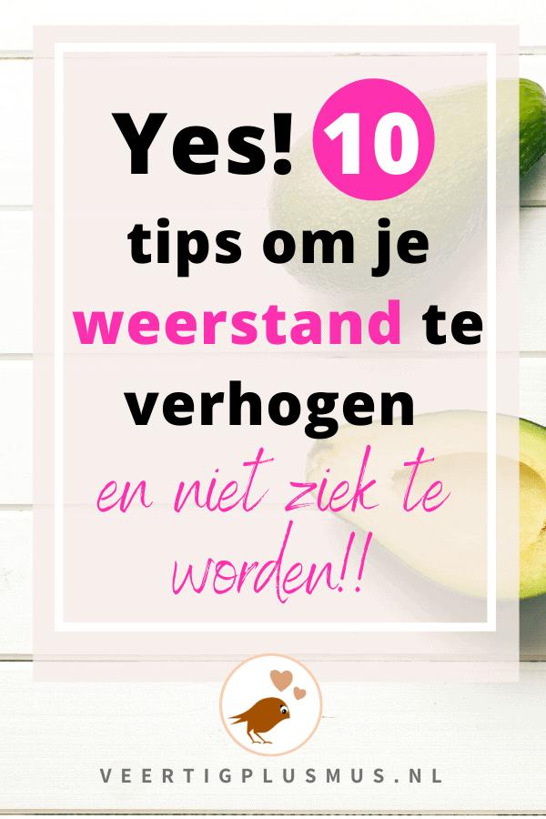 10 tips om snel je weerstand te verhogen en niet ziek te worden