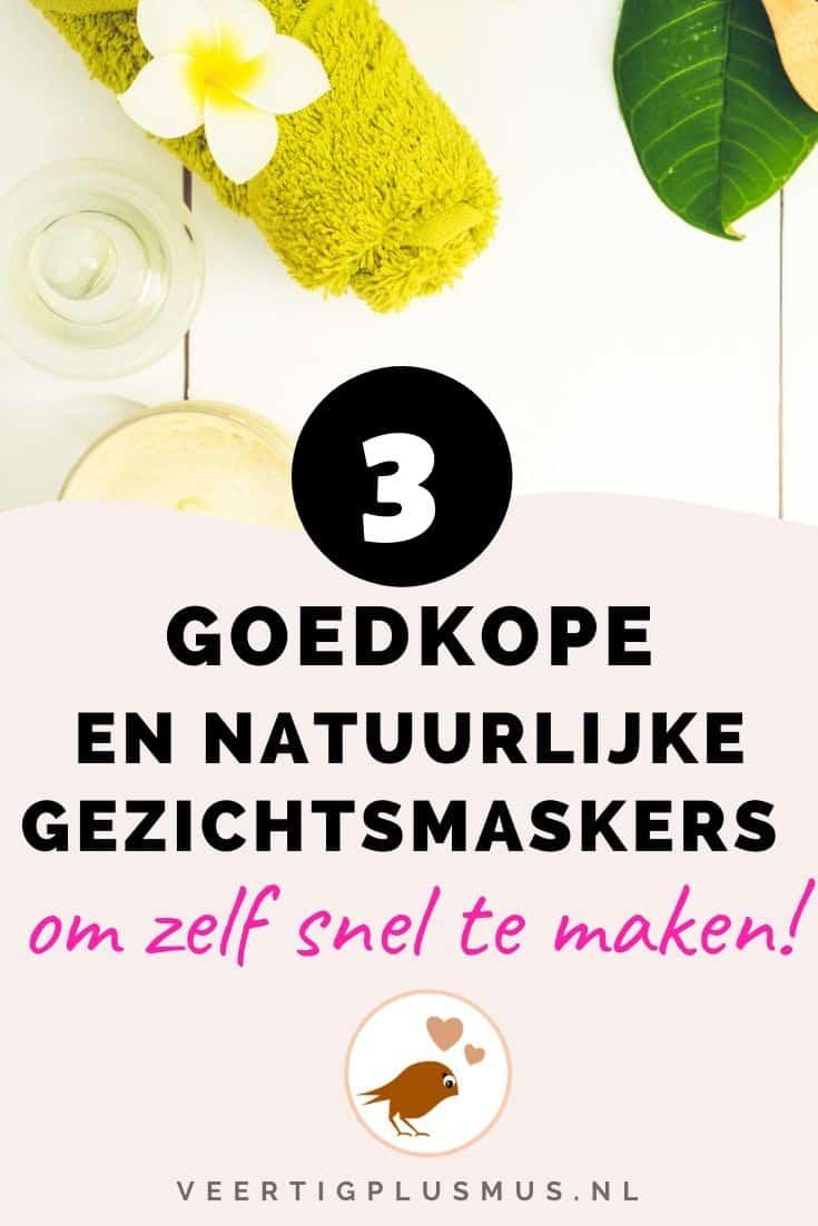 3 goedkope en natuurlijke gezichtsmaskers om zelf snel te maken