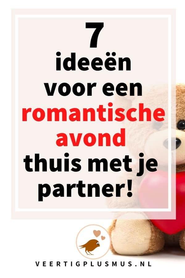 7 ideeën voor een romantische avond thuis met je partner