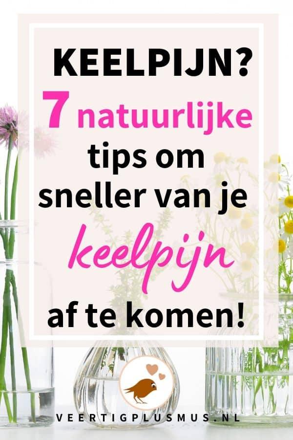 7 natuurlijke tips om sneller van je keelpijn af te komen