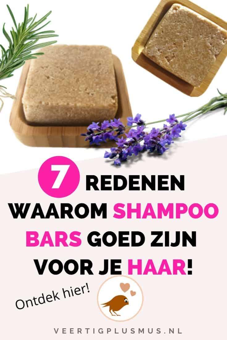 Dit is waarom shampoo bars goed zijn voor je haren