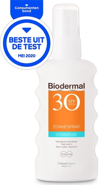 Biodermal hydraplus zonnespray factor 30 spf 30