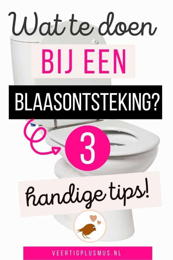 Wat te doen bij een blaasontsteking 3 handige tips
