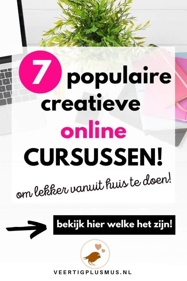7 populaire creatieve online cursussen om lekker vanuit huis te doen