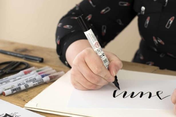 online cursus handlettering bij soofos
