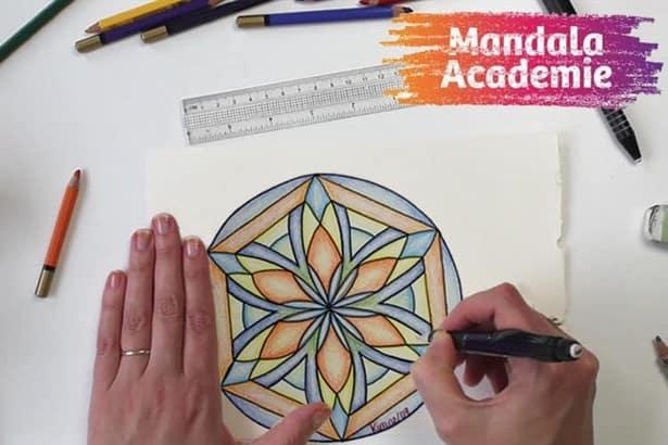 online cursus mandala tekenen voor beginners soofos