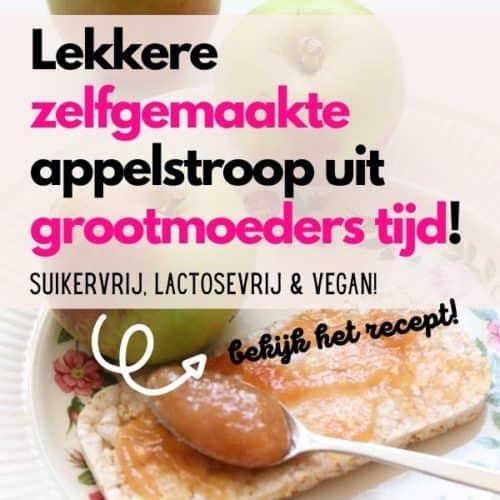 recept zelfgemaakte appelstroop grootmoeders tijd