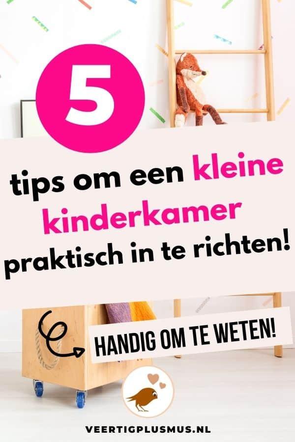 5 tips om een kleine kinderkamer praktisch in te richten