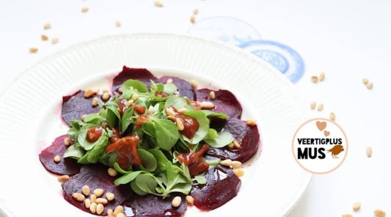recept verrukkelijke bietencarpaccio met balsamico azijn