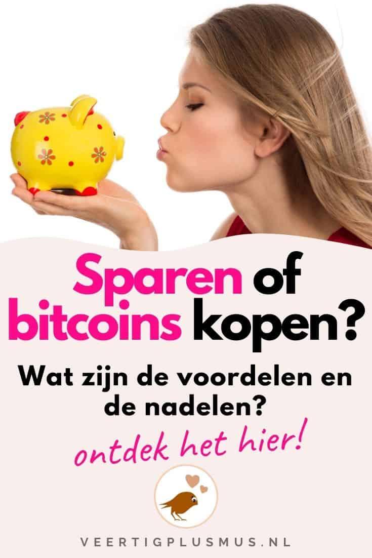 voordelen en nadelen van sparen of bitcoins kopen