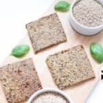 recept noten en zaden crackers glutenvrij lactosevrij suikervrij