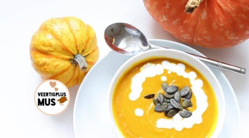 recept voor pompoen soep glutenvrij vegan lactosevrij