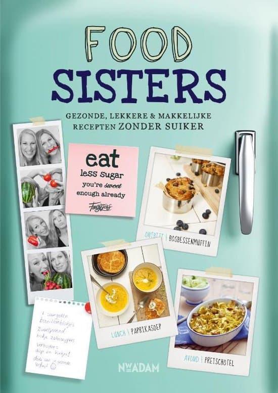 boek foodsisters gezonde lekkere recepten zonder suiker