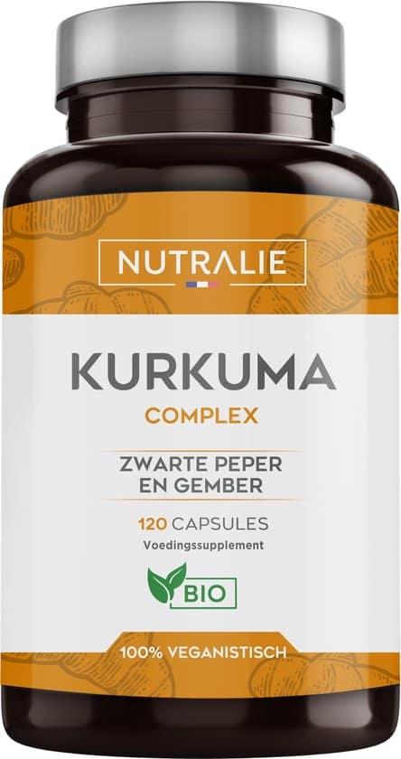 nutralie kurkuma complex met zwarte peper en gember