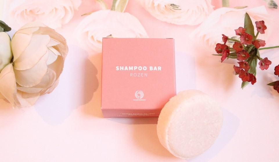 Shampoo bar rozen van Shampoo Bars