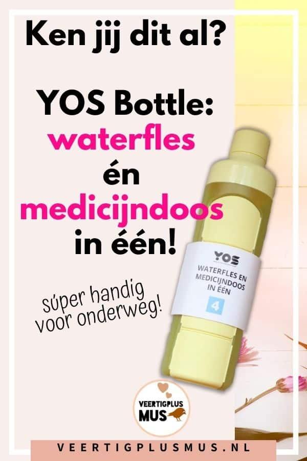 yos bottle waterfles en medicijndoos