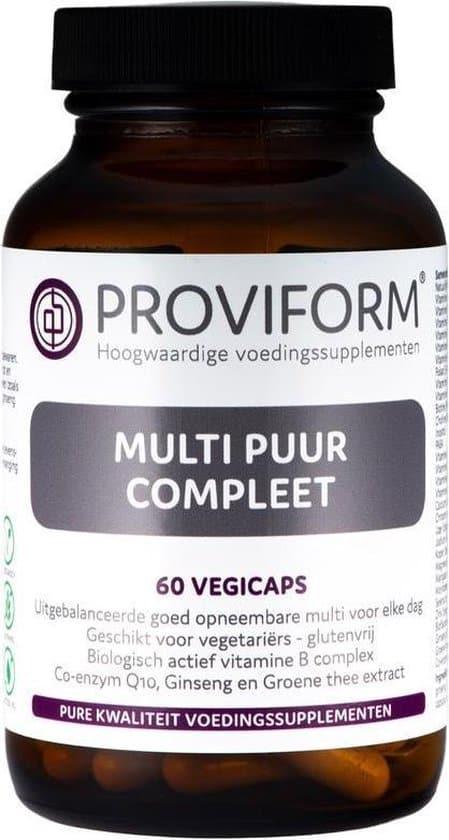 proviform multi puur compleet vegan capsules