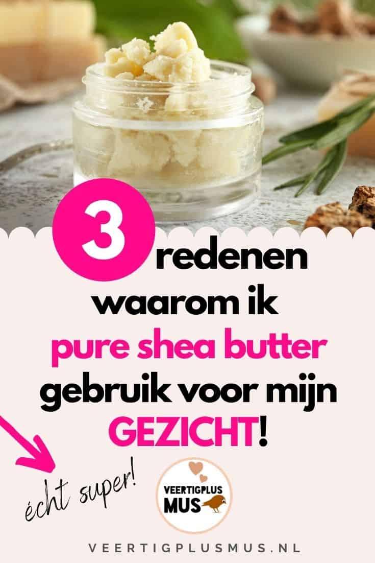 3 redenen waarom ik pure en biologische shea butter gebruik voor mijn gezicht