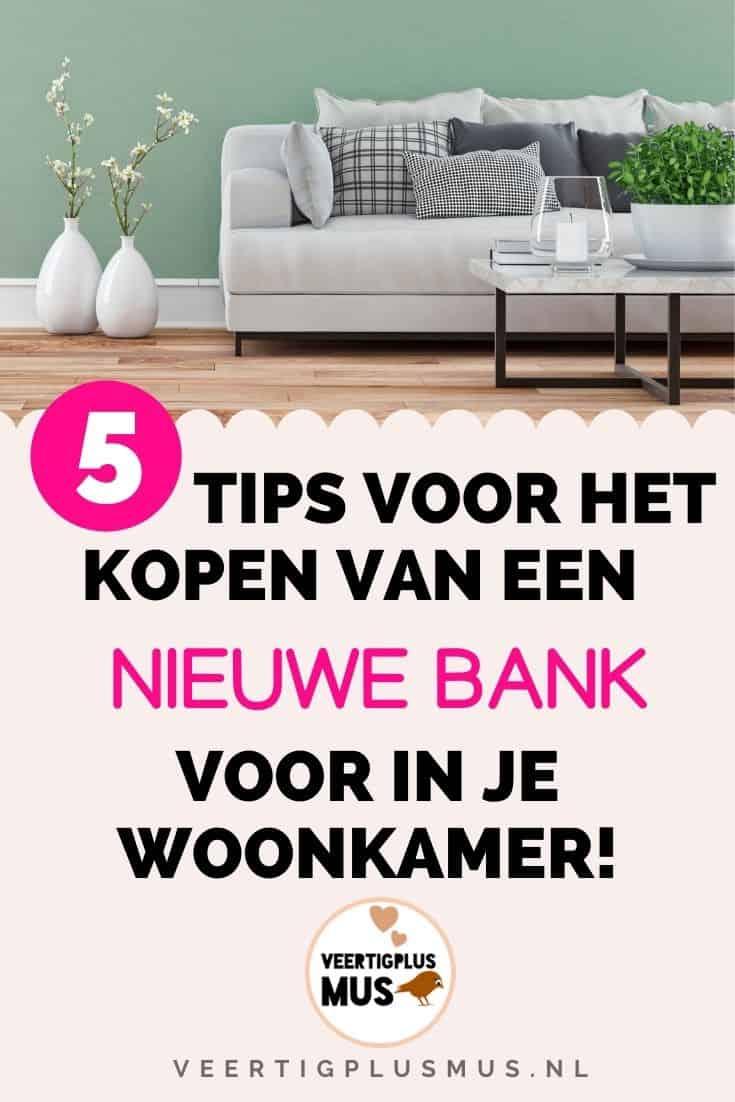 5 tips voor als je een nieuwe bank gaat kopen voor in je woonkamer