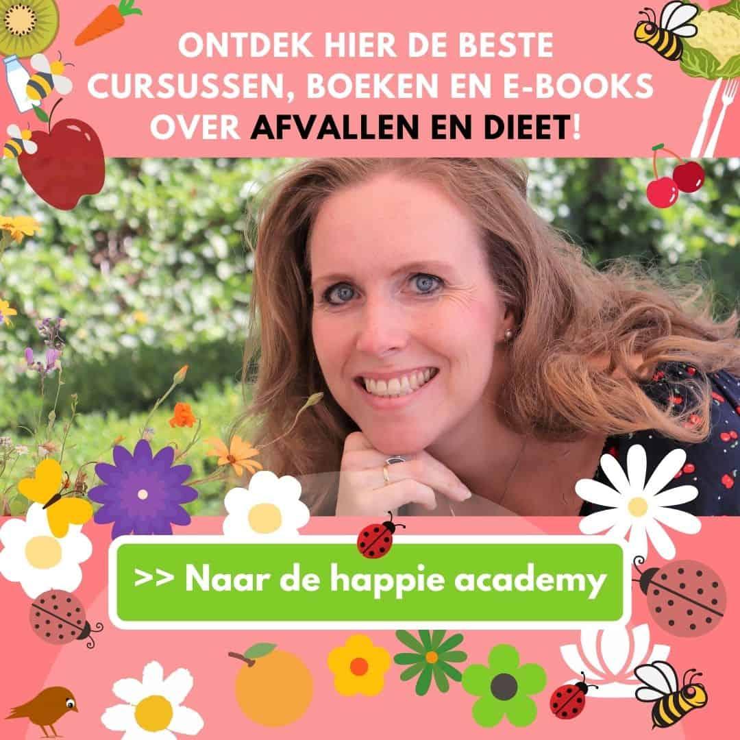 afvallen cursussen boeken en ebooks happie academy