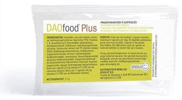 daofood plus disolut proefverpakking