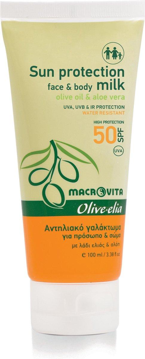 olive elia zonnebrandmelk factor 50