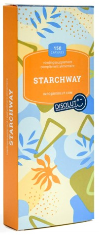 150 capsules disolut starchway