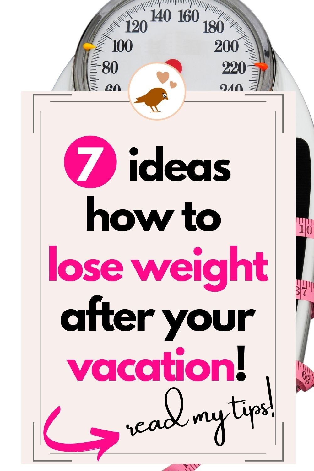 7 tips how to lose weight after your vacation