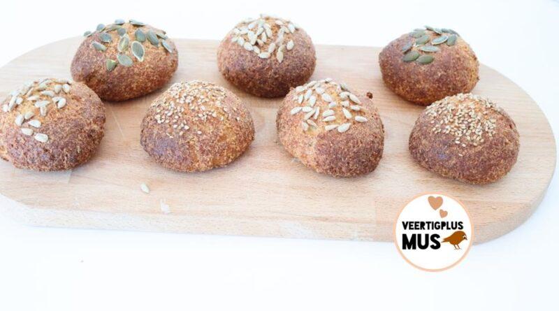 Recept makkelijke koolhydraatarme broodjes lactosevrij glutenvrij