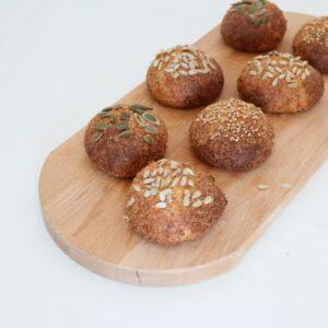 makkelijke koolhydraatarme broodjes recept